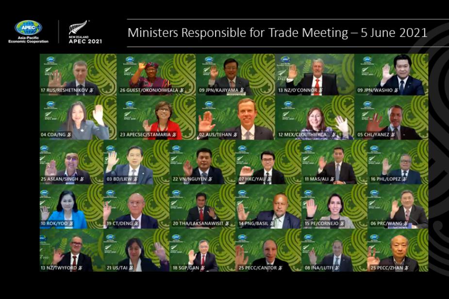 【APEC】APEC 貿易部長會議圓滿落幕 發布 APEC 貿易部長聯合聲明